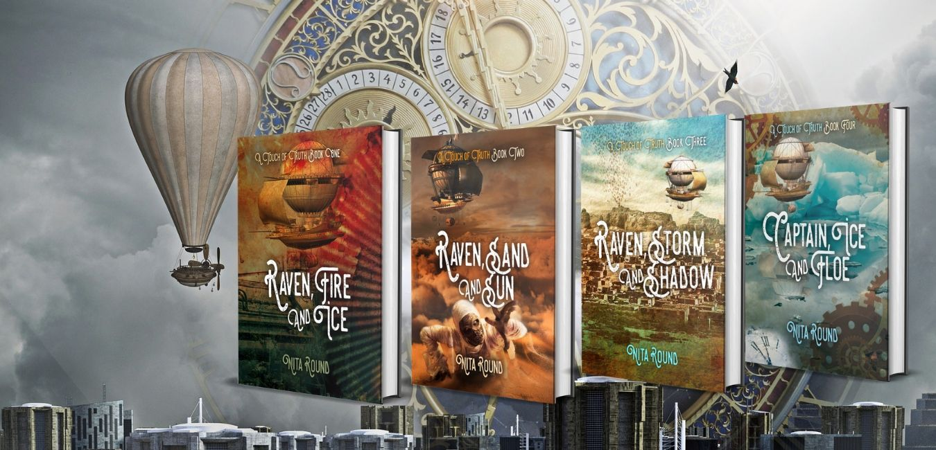 steampunk fantasy fiction series